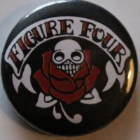 Figure Four – Rose/Skull (Badges)
