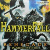 Hammerfall – Renegade (Promotion Sticker)