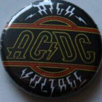 AC/DC – High Voltage (Badges)