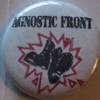 Agnostic Front – Boots/Logo (Badges)