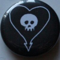 Alkaline Trio – Heart/Skull (Badges)
