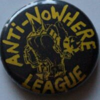 Anti-Nowhere Leauge – Fist/Logo (Badges)