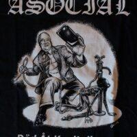Asocial – Död Åt Kapitalismen (T-Shirt)