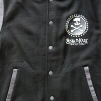Asta Kask – Star/Skull (Two Tone Baseball Jacket)