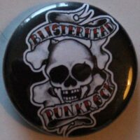 Blisterhead – Punkrock/Black (Badges)