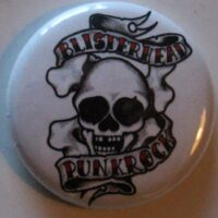 Blisterhead – Punkrock/White (Badges)