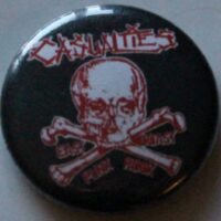 Casualties, The – Skull (Badges)