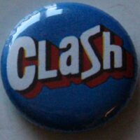 Clash, The – Logo (Badges)