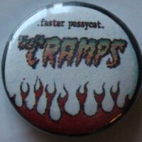 Cramps, The – Faster (Badges)