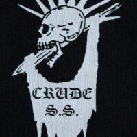 Crude SS – Skull/Logo (Cloth Patch)