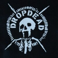 Dropdead – Skull/Logo (Cloth Patch)