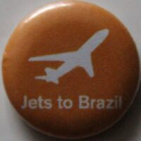 Jets To Brazil – Plane (Badges)