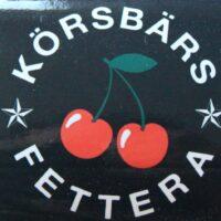 Körsbärs Fettera – Logo (Sticker)