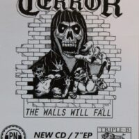Terror – The Walls (Promotion Sticker)