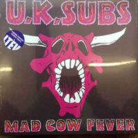 UK Subs – Mad Cow Fever (Color Vinyl LP)
