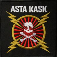 Asta Kask – Blixtar/Skalle (Embrodiered Patch)