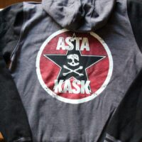 Asta Kask – Star/Skull (Two Tone Baseball Zip Hood)