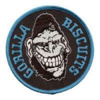 Gorilla Biscuits – Gorilla (Blue)(Embroidered Patch)