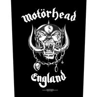 Motorhead – England (Sew On Back Patch)