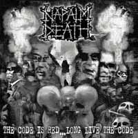 Napalm Death – The Code Is Red… Long Live The Code (Clear Vinyl LP)