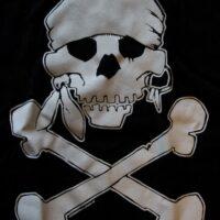 Pirate Skull (Girlie-T)